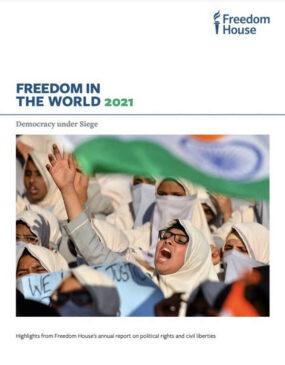 Звіт Freedom House «Свобода у світі 2021»