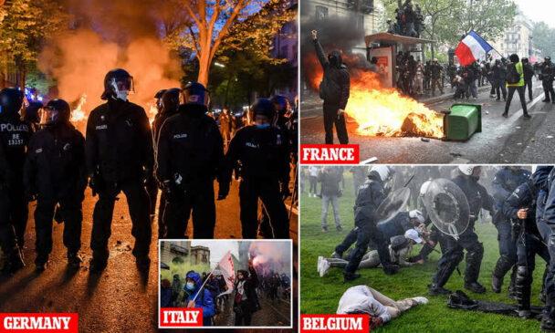 Росія використовувала травневі свята для організації антиурядових виступів та безладів у європейських і інших країнах
